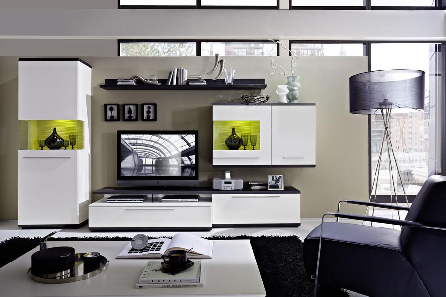PARTNERRING COLLECTION Designer-Wohnwand Studio Light für Ihre Wohnlandschaft