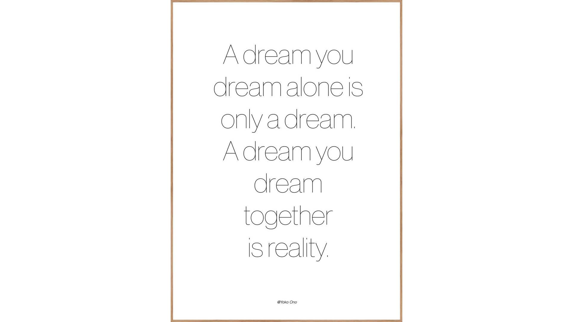 Interliving BEST BUDDYS! Posterdruck A Dream