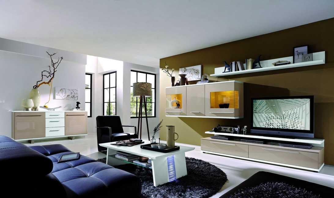 PARTNERRING COLLECTION Designer-Wohnwand Studio Light für Wohnen mit Stil