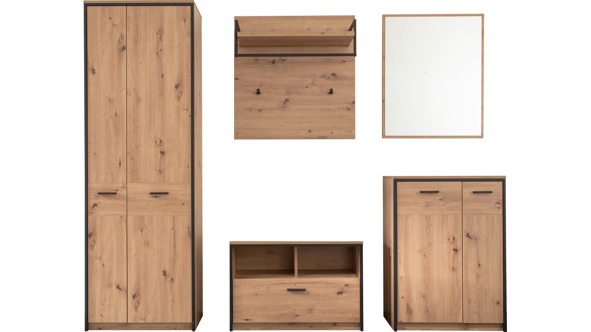 Click&Collect Garderobenserie Bergen – Komplett-Set