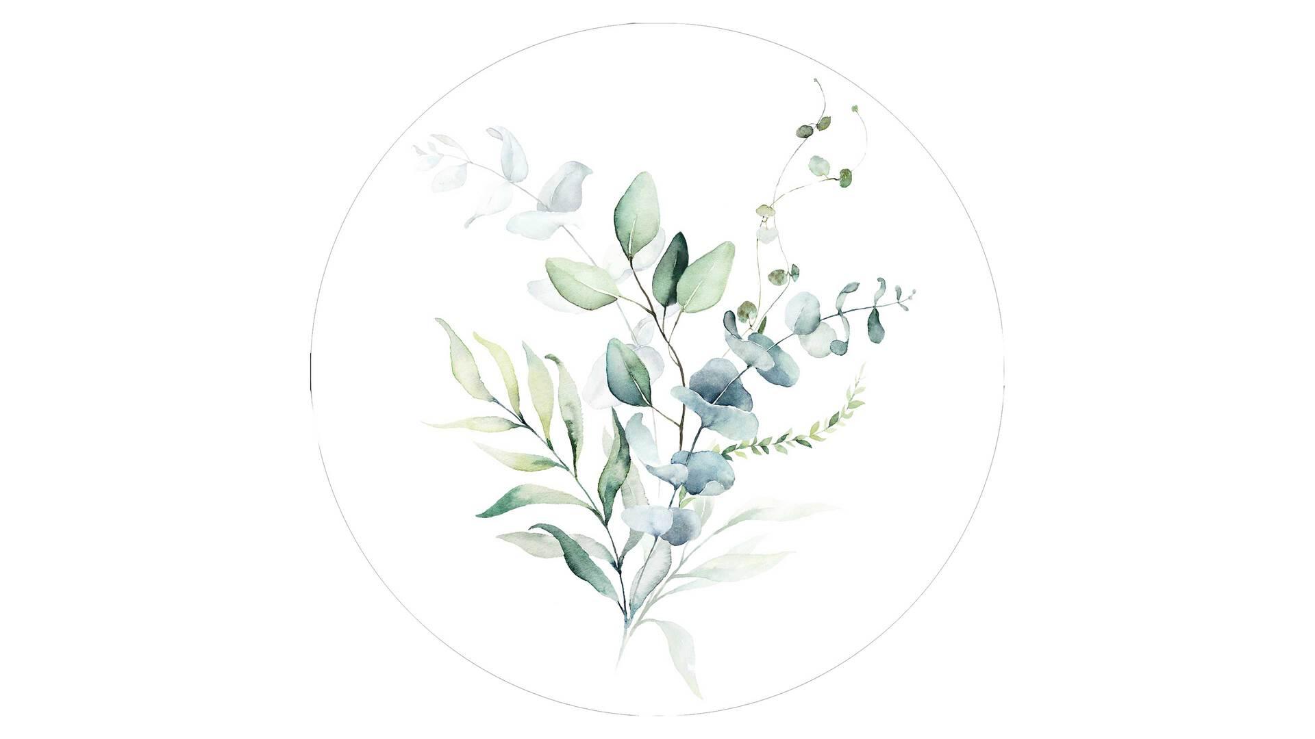 Interliving BEST BUDDYS! Kunstdruck Watercoloured Leaves I