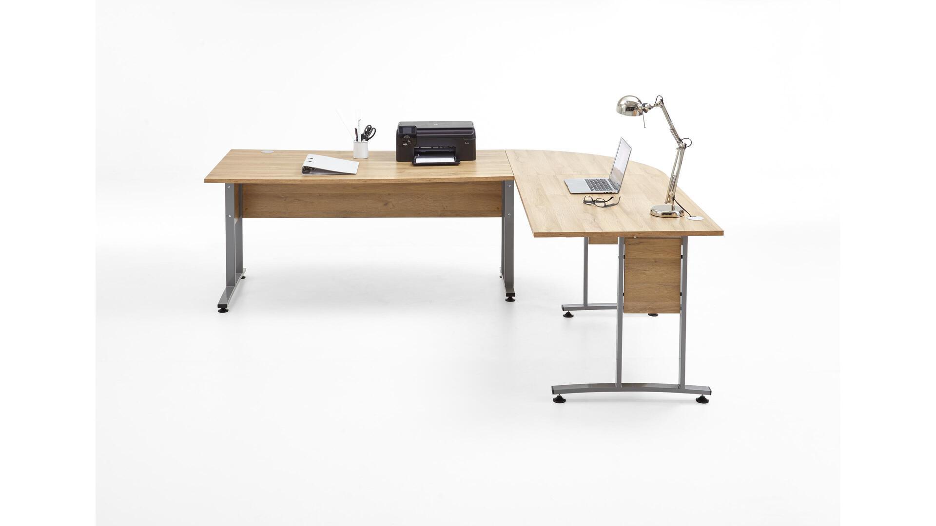Eckschreibtisch als Büromöbel