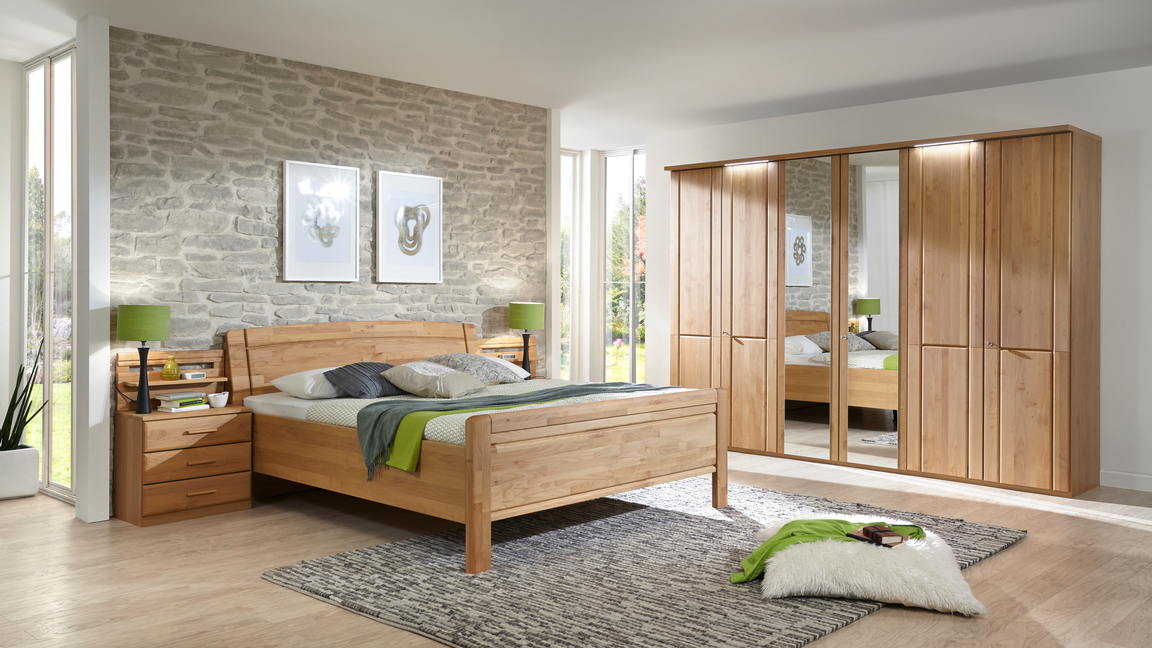 PARTNERRING COLLECTION Schlafzimmer mit Bettgestell
