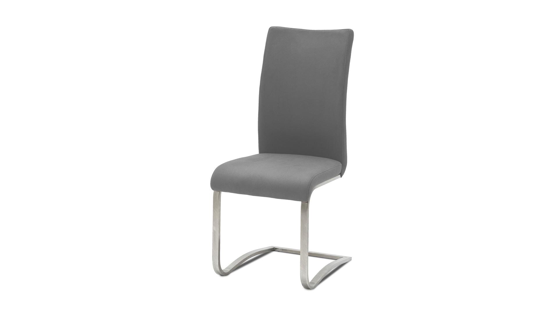 Leder-Schwingstuhl, ein Dielenmöbel oder Büromöbel