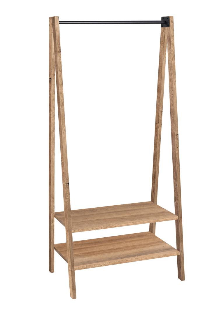 Massivholz-Garderobenständer