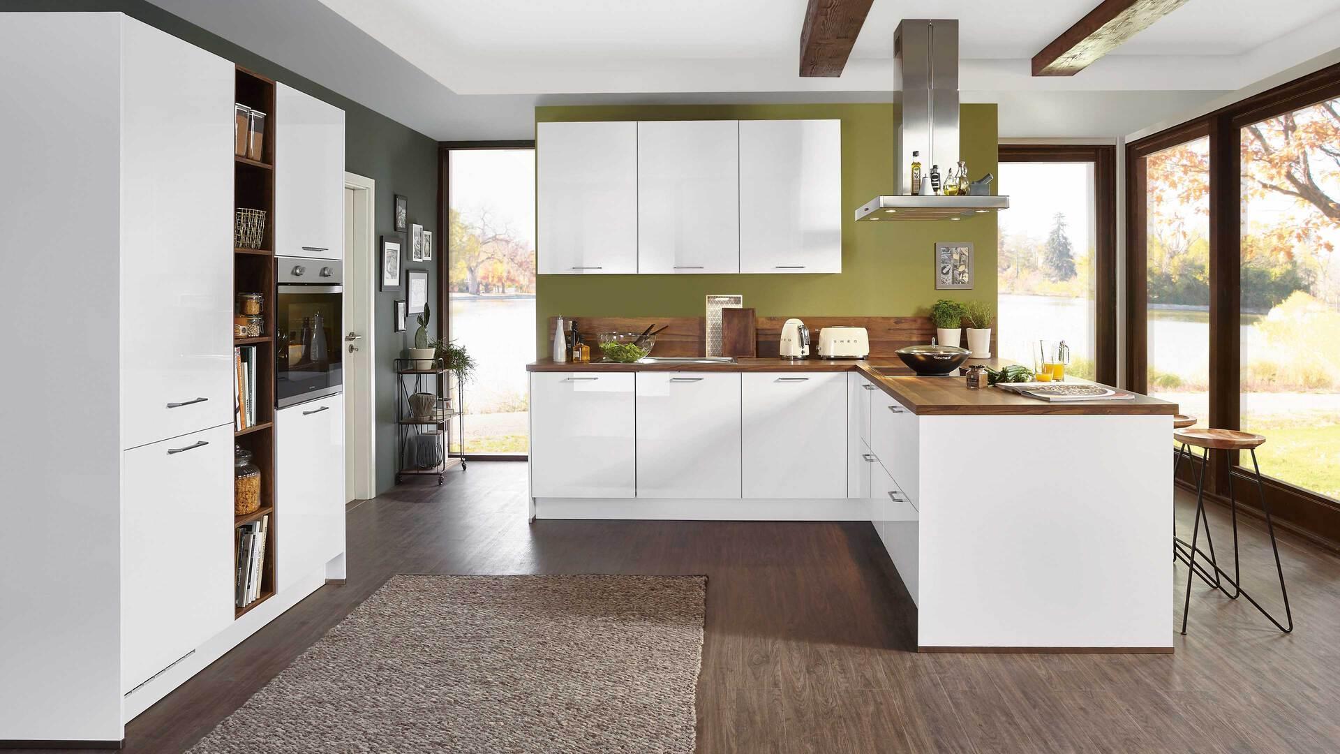 nobilia Einbauküche Focus mit privileg-Elektrogeräten