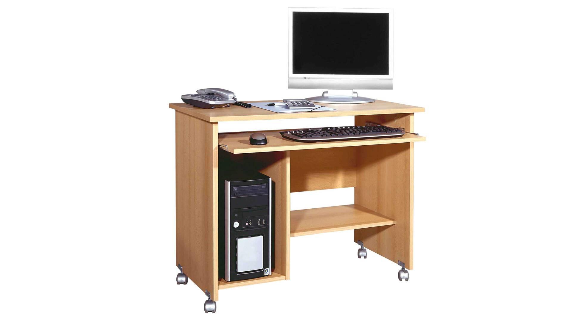 Computertisch auf Rollen für Ihre Büroeinrichtung