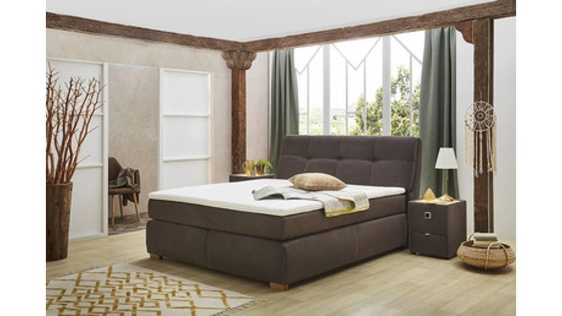 Boxspringbett als Schlafzimmermöbel