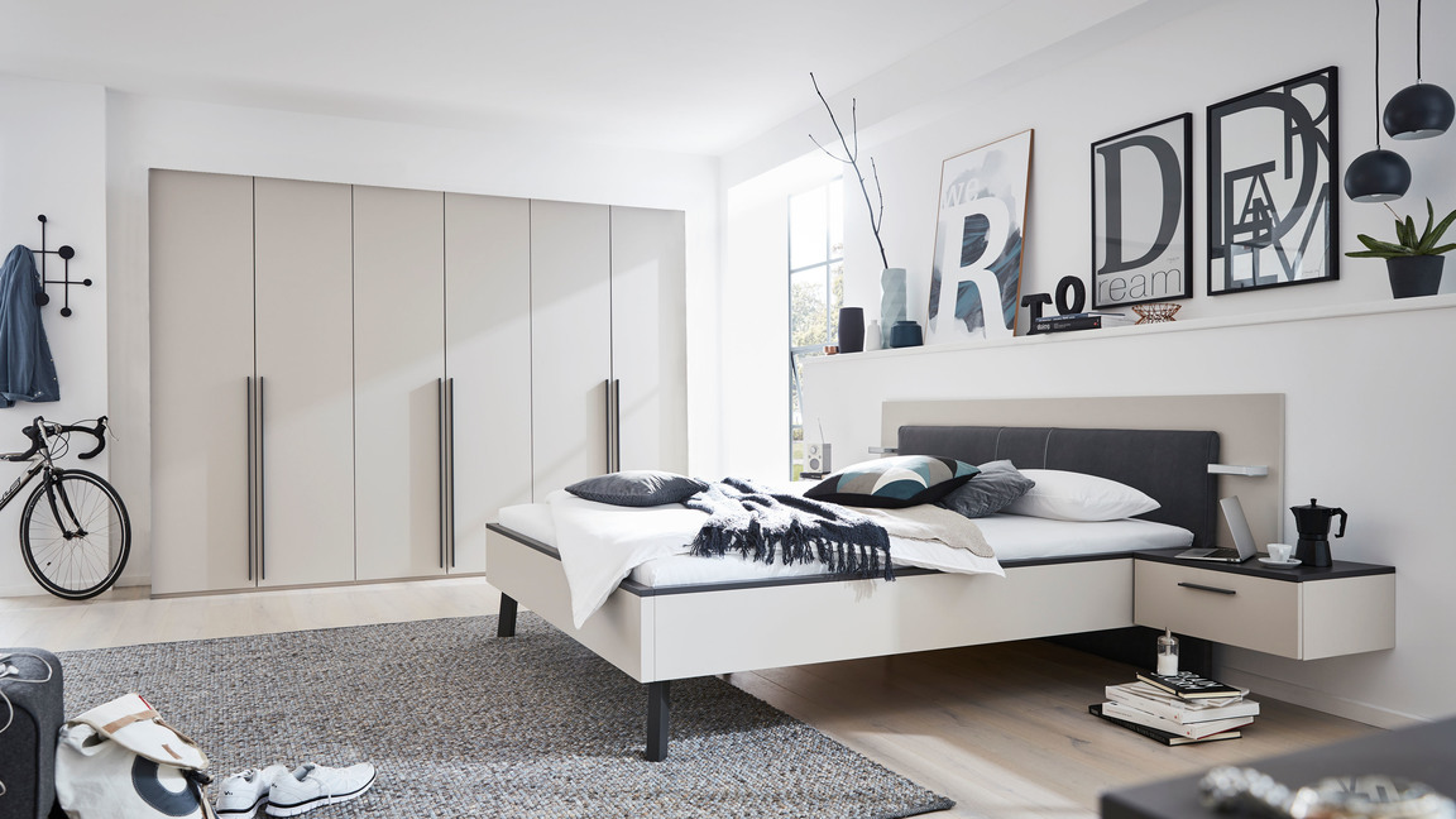 Interliving Schlafzimmer Serie 1410 – Komplettzimmer mit Extras