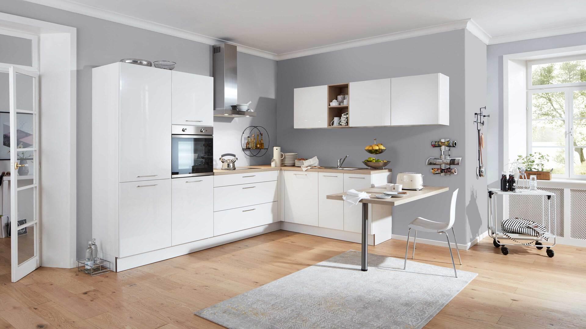 Interliving Küche Serie 3018 mit privileg Einbaugeräten