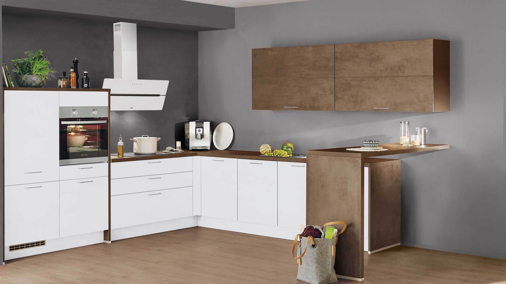 nobilia Einbauküche Speed mit LEONARD-Elektrogeräten