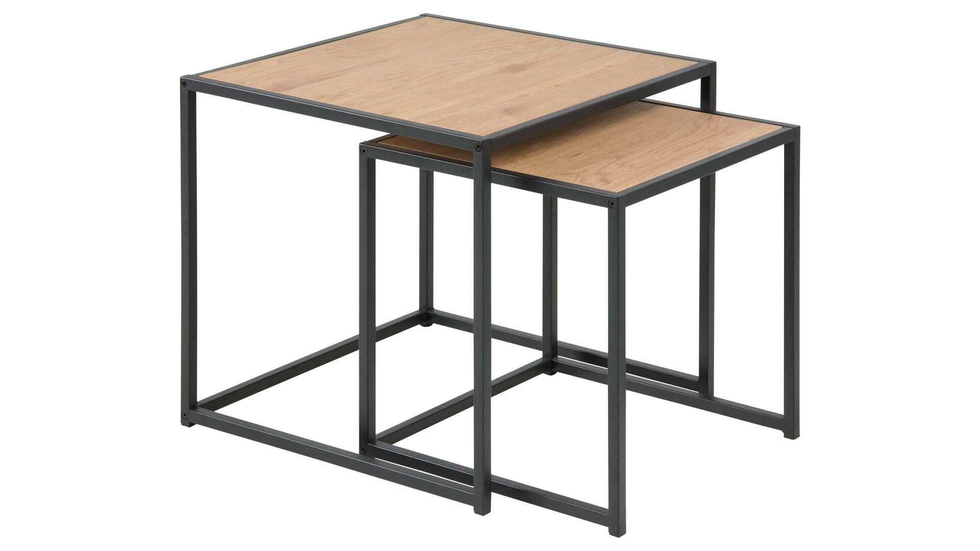 2-Satz-Tisch im Industrielook bzw. Beistelltische