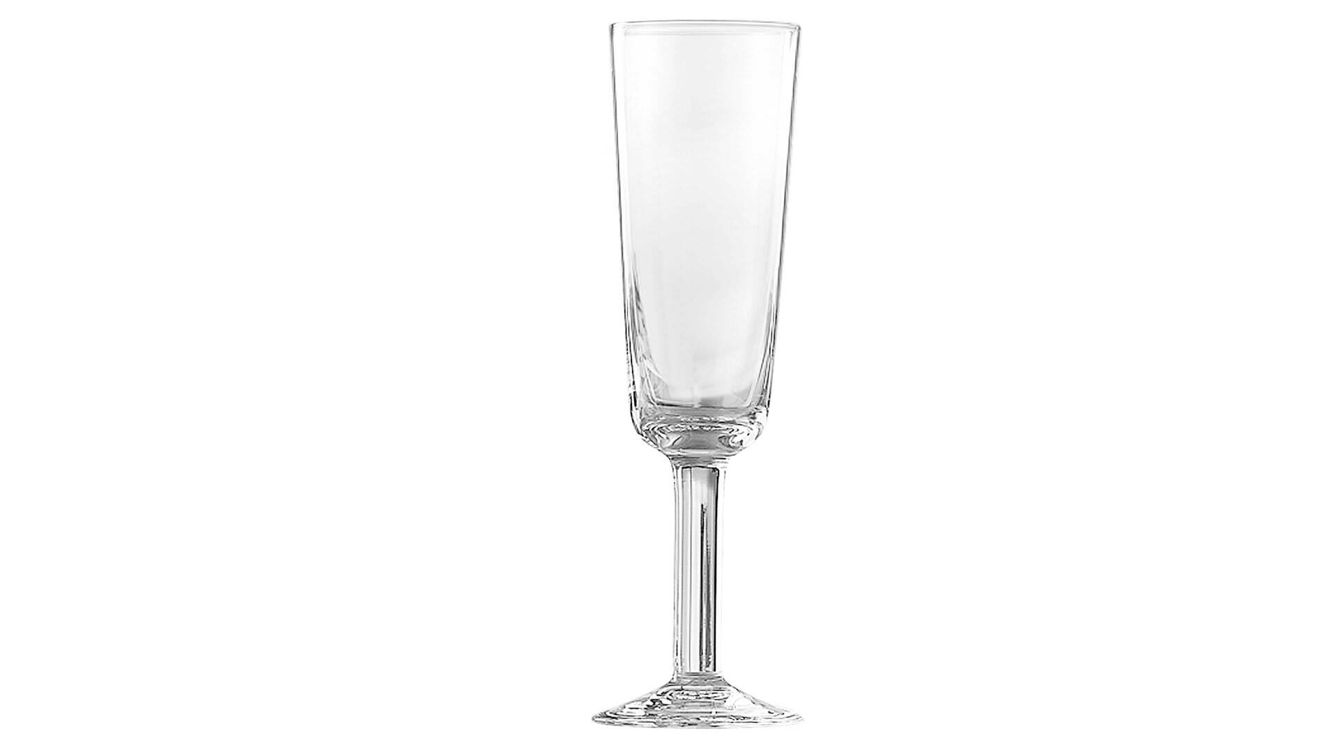 BOHEMIA Cristal Sektglas Chalet
